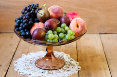 Fruits in a vase Stock Photography