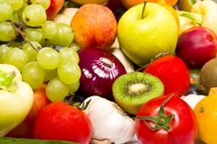 Fruits and vegetable Stock Photo