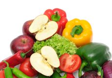 Fruits and vegetable Royalty Free Stock Photography