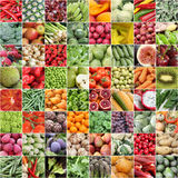 Fruits and vegetable. Fresh fruits and vegetable collage Stock Photo