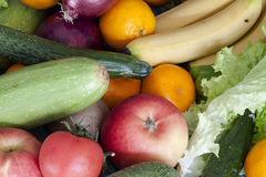 Fruits and vegetable Royalty Free Stock Photos