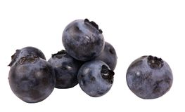 Fruits & Vegetable Series (Blueberries) Stock Images