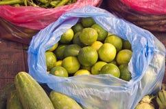 Fruits and vegetable sin asia market, Kathmandu Stock Photo
