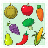 Fruits & Vegetables 01 Stock Image