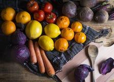 fruits vegetables Στοκ Εικόνες