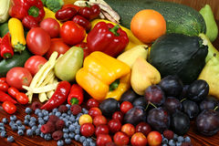 Fruits and vegetables. Royalty Free Stock Photography