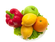 Fruits and vegetables. Stock Photos