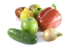 Fruits&Vegetables Royaltyfria Bilder