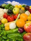 Fruits & Vegetables. Healthy Eating series: Fruits & Vegetables assortment Stock Image