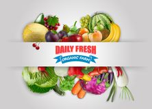 fruits vegetables Στοκ Φωτογραφίες