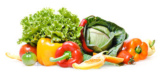 Fruits & Vegetables Royalty Free Stock Photo