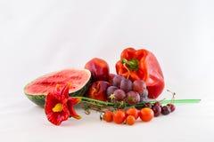 Red seasonal vegetables Stock Photo