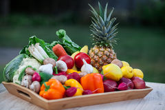 Fruits and vegetables Stock Photos