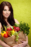 Fruits and vegetables concept Royalty Free Stock Photography