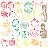 Fruits and vegetables in the context of Stock Photos