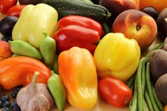 Fruits and vegetables. Stock Images