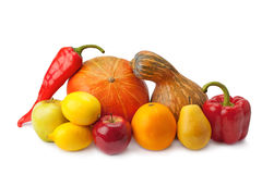 Fruits and vegetables Stock Image