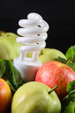 Fruits and vegetables are food for energy Stock Photo