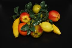 Faux Fruits and vegetables Royalty Free Stock Photography
