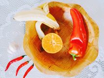 Fruits and vegetables. A good eating habit leads to a healthy life royalty free stock images