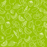 Fruits and vegetables Royalty Free Stock Photo
