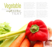 Fruits and Vegetables and ingredients Royalty Free Stock Images