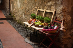 Fruits and vegetables in Italian alley Royalty Free Stock Image