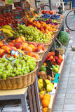 Fruits and vegetables in the Italian city market Royalty Free Stock Images