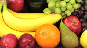 Fruits and vegetables, macro shot Stock Images