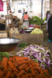 Fruits and vegetables on the market Stock Photo