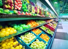 Grocery store royalty free stock photos