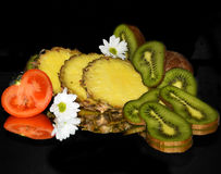 Fruits,vegetables Stock Photography