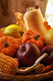 Fruits and vegetables in season Royalty Free Stock Photography
