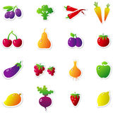 Fruits Vegetables Stock Images
