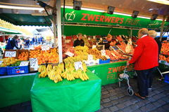 Fruits and vegetables shop  in Grote Markt Royalty Free Stock Image