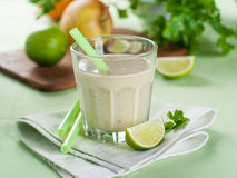Fruits and vegetables smoothie Stock Image