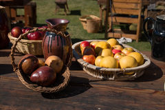 Fruits and Vegetables Still Life Royalty Free Stock Images