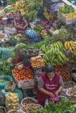 Fruits and Vegetables at Street Market Azuay Ecuador Stock Photos