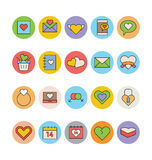 Fruits and Vegetables Vector Icons 2 Royalty Free Stock Photo