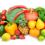 Fruits and vegetabls Royalty Free Stock Images