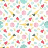 Fruits & Veggies Background Stock Images