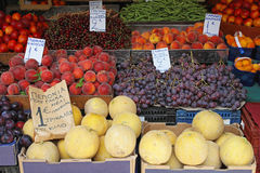 Fruits and veggies Royalty Free Stock Image