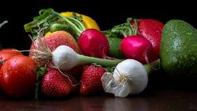 Fruits and Veggies Royalty Free Stock Photos