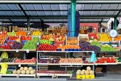 Fruits vendor Royalty Free Stock Photography