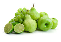 Fruits verts Photo stock