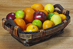 Fruits with vitamin C. A mixture of fruits with vitamin C Royalty Free Stock Image