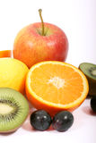 Fruits Vitamin Salad Stock Photo