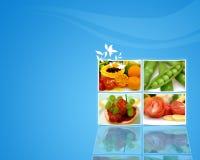 Fruits wallpaper Stock Photography