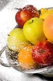Fruits washing Royalty Free Stock Photos