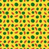 Fruits watermelon seamless patterns vector Stock Photos